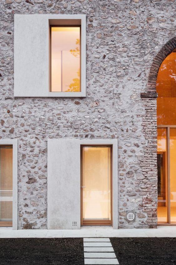 Casa construida en piedra