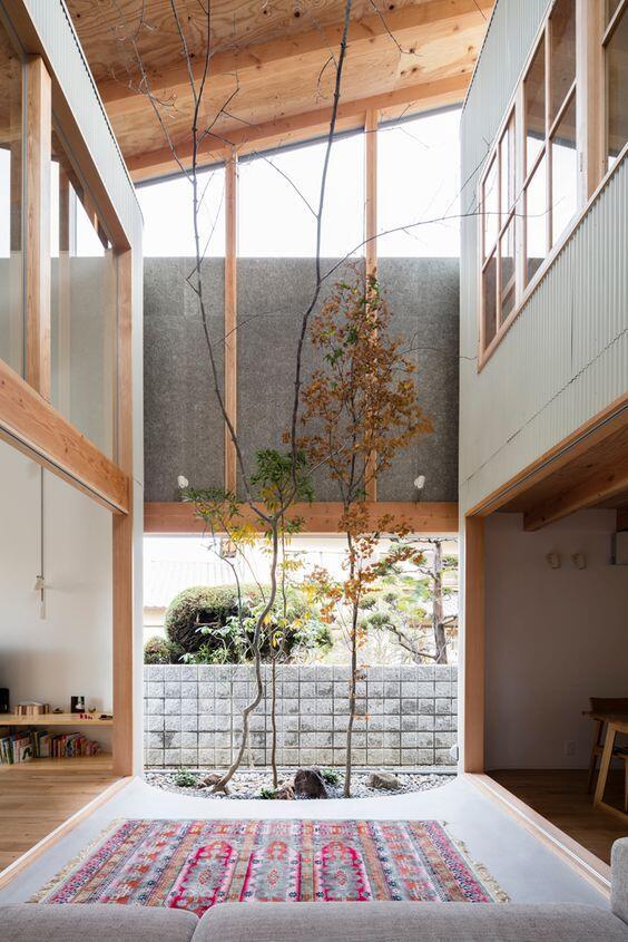 Vista interior de una casa 1