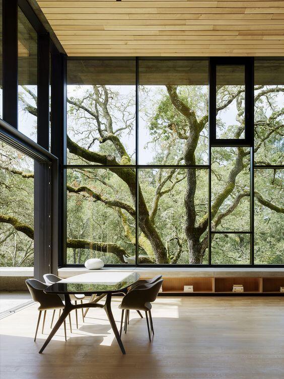 Vista interior de una casa 2