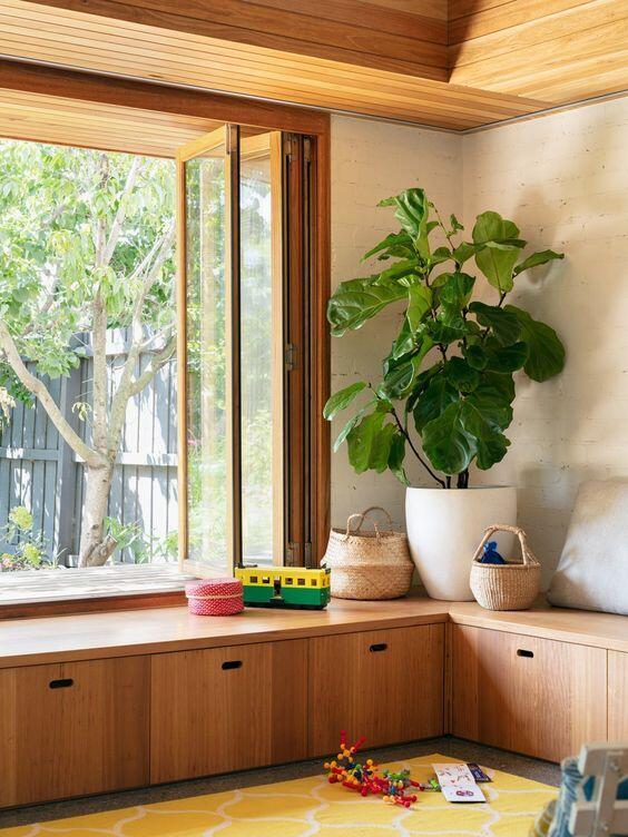 interior con ventana