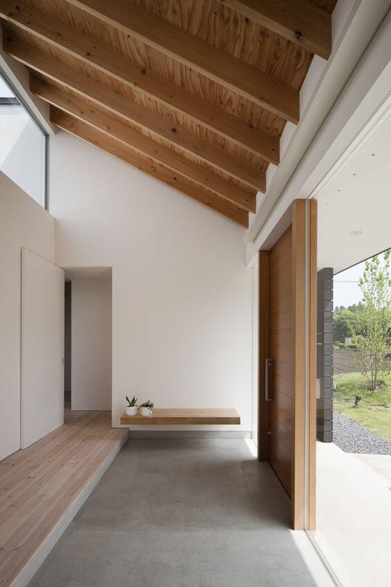 vista del interior de una casa