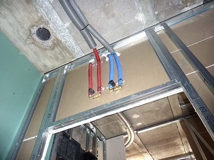 instalaciones en tabique de pladur