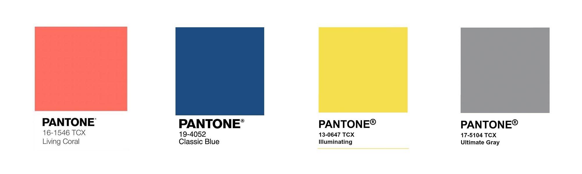 Los colores Pantone