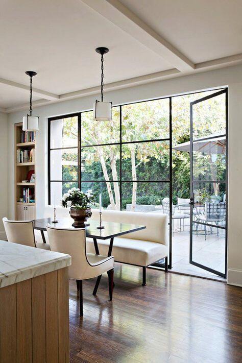 ventanas de diseño de un salón