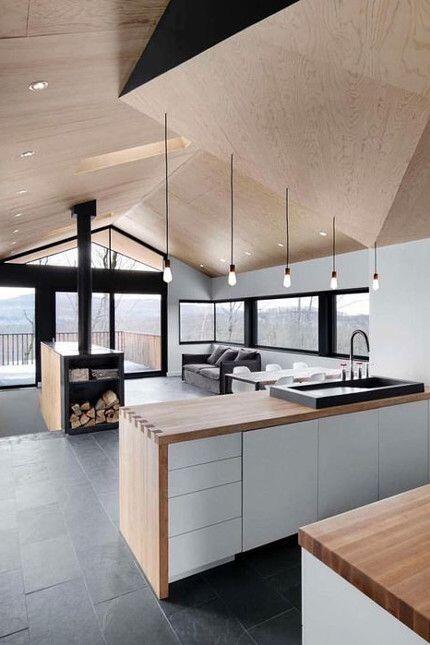 Interior cocina blanca