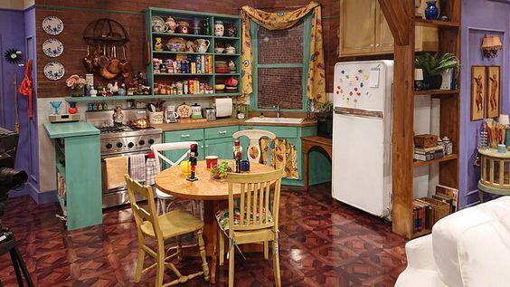 La cocina abierta de Friends