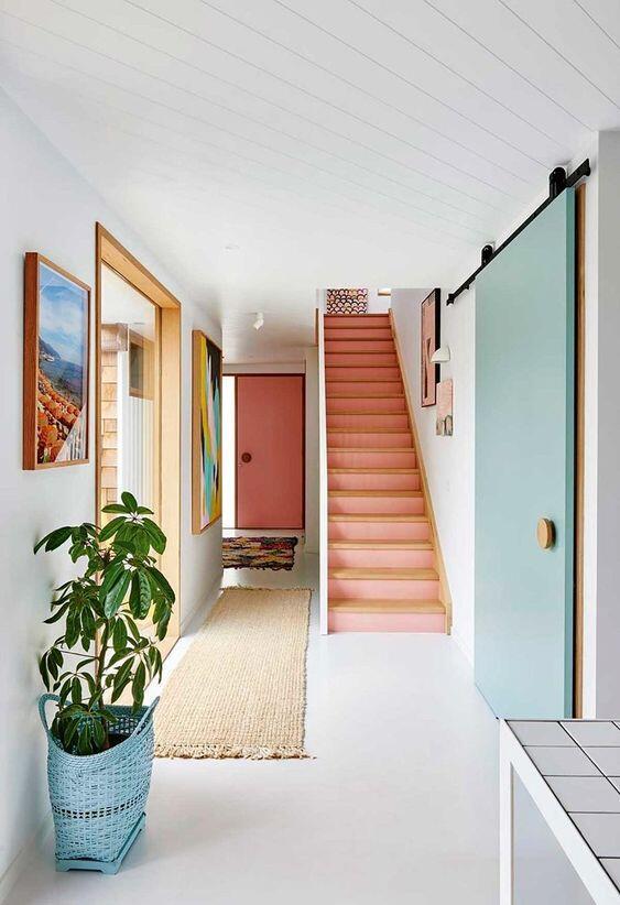 Diseño de la entrada de una casa